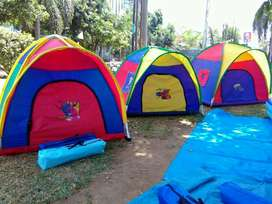 tenda dome anak ( rangka tenda paralon )