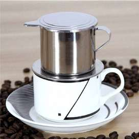 OneTwoCups Filter Saring Kopi Vietnamese Coffee Drip Pot Stainless Ste