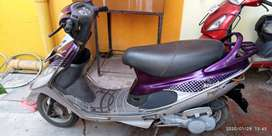 TVS Scooty pep+, 9 years from 2011.