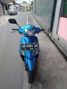 Suzuki Spin SR 125cc, 2008, AD Solo Kota, Pajak Hidup Surat² Komplit