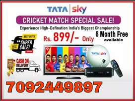 Special discount offer on New Tata sky Dth. free installation