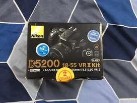 D5200 Nikon dslr black