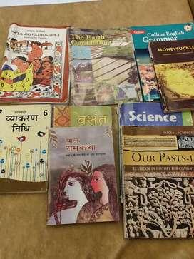 CBSE Std VI books