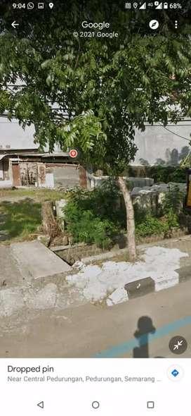 Tanah tepi jalan di sewakan murah luas 1500 m Sokarno Hatta Semarang
