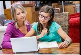 Female home tutor requirement