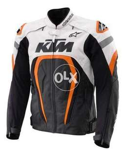 KTM Motegi Alpinestars Motorcycle Sport Racing Leather Jacket, All Siz