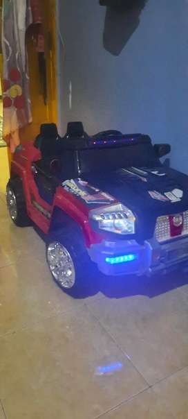 Mobil mainan aki jeep skunk