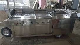 Tow able fast food carts