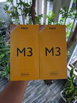 Poco M3 Ram 6/128 - Baru Segel Bergaransi Resmi