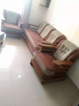 5 seater Sofa and center table