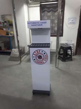 New 15000+gst new Automatic hand sanitizing machine
