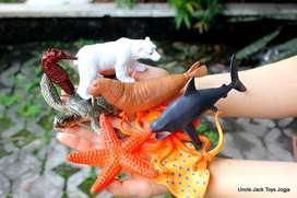 Mainan Anak - Miniatur Binatang Laut - Underwater World set isi 8