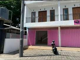 Dikontrakan Ruko 2 Lantai di Jalan Dam Tukad Badung Denpasar Barat