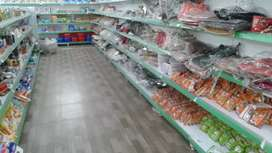 Mart rack and grocery
