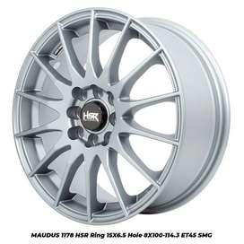 Velg Mobil R15 HSR untuk Baleno, Valco, Rio, Agya, Lancer, Ayla dll