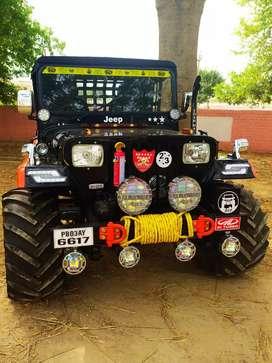 Verma jeep motor