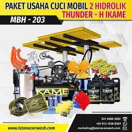 "PAKET CUCI MOBIL ""2 HIDROLIK"" MBH-203 IKAME, Hidrolik Mobil Dan Motor"