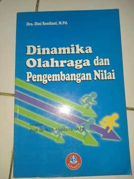 Buku dinamika olahraga dan pengembangan nilai