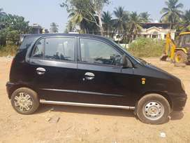 Well maintained black santro
