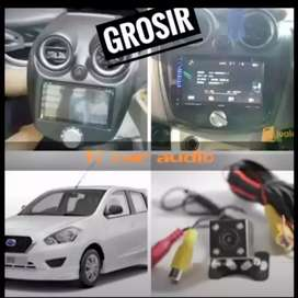 For DATSUN dvd 2din android link led 7inc plus camera hd mumer grosir