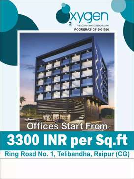 Office space available Ring road No. 1 Telibandha Near Xpressway