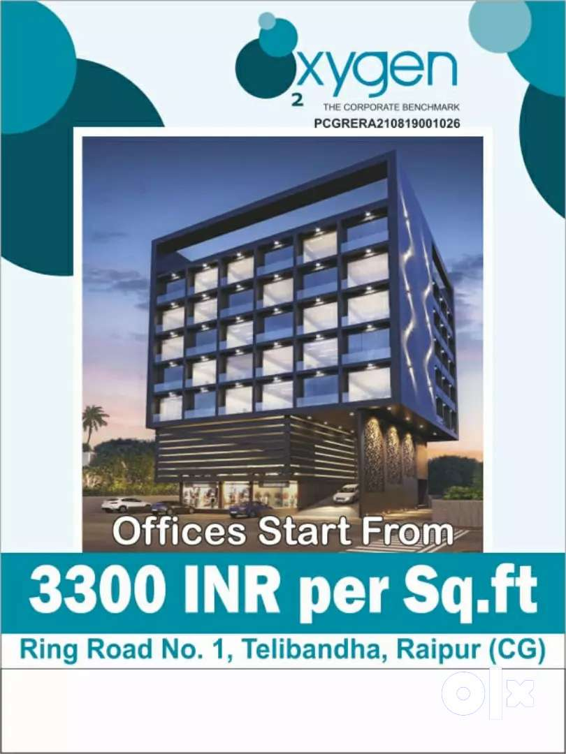 Office space available Ring road No. 1 Telibandha Near Xpressway 0