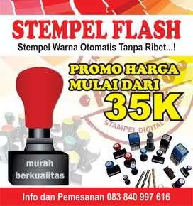 Stempel Flash / Otomatis