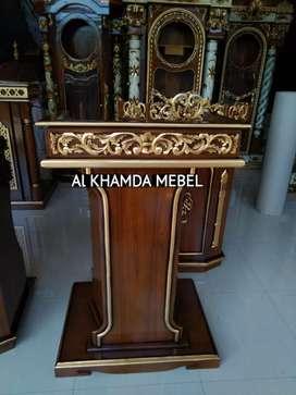 Ready Mimbar Musholla Kerajinan Jepara @120