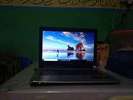 Jual cepattt laptop ASUS 14inch seri K46CA i3 windows 10(nego)