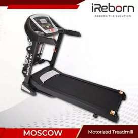 Elektrik Treadmil I Moscow M8 # Gudang Fit jateng