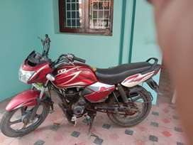 Well maintained Red TVS Star City Plus. Single Driven Good Condition