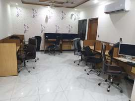 Coworking space & Shared office space