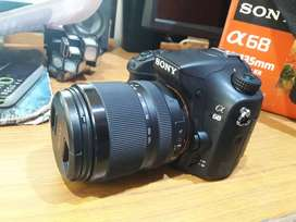 Sony A68M 24.2 MP Camera with 18-135 mm Lens