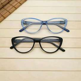 Kacamata minus model cat eye