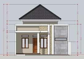 Rumah baru mewah di Purwomukti Pedurungan Semarang