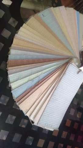 Vertikal blind - Roller blind - Wallpaper In Design