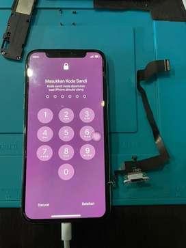 Ganti flaksibel cas iphone x bergaransi