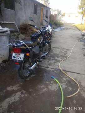 Smooth engine and one hand use and 1 year insurance