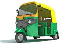 Auto rickshaw driver for ola
