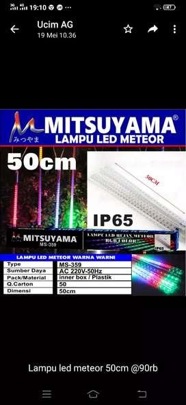 Lampu led meteor 50cm