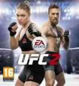 UFC2 ps4 game sale or exchange