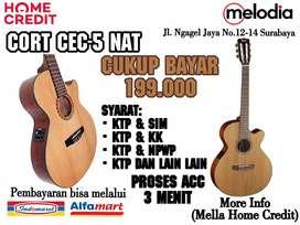 Promo Kredit Cort CEC-5 NAT Syarat KTP+SIM di Melodia Musik Surabaya