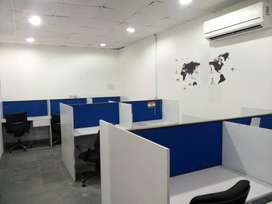 2 cabins 20 workstations fully furnished office in sec 63 noida.