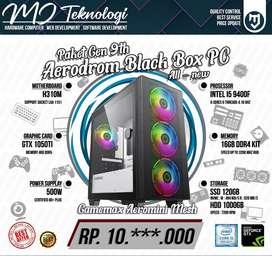 PC RAKITAN INTEL I5 9400F   GTX 1050TI 4GB   RAM 16GB DDR4 KIT   SSD