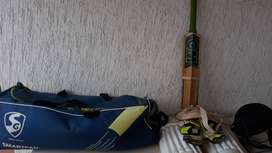 Cricket kit with trolly bag