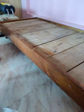 Solid Teakwood cot for sale