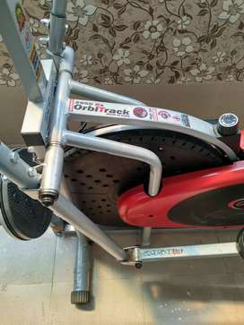 Rarely used elliptical trainer