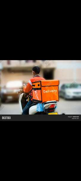 Staff for Courier packages delivery