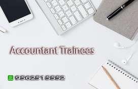 ACCOUNTANT TRAINEES / FRESHERS