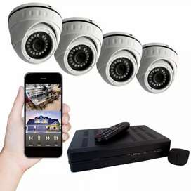 CCTV camera's with DVR with installation
